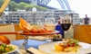 Dockside Group - Waterfront: Mod Oz Harbourside Lunch ($89) or Dinner with Bottle of Wine ($99) for Two People at Waterfront (Up to $241 Value)