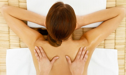 $31 for 60-Minute Deep-Tissue Massage with a Hand & Foot Sugar Wrap at True Salon and Spa ($75 Value)