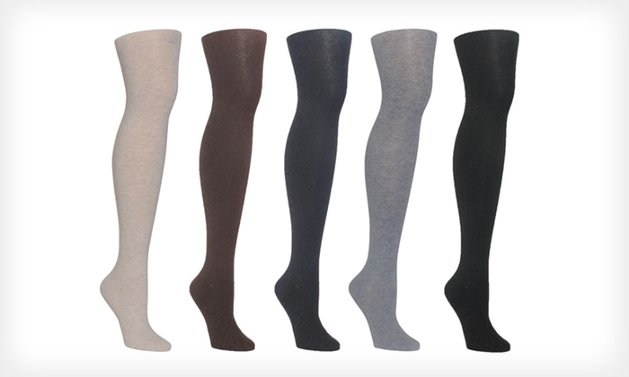 Women's Cashmere, Merino Wool, or Angora Tights: Women's Winter Tights (Up to 60% Off). Multiple Styles, Colors, and Sizes Available. Free Shipping and Free Returns.