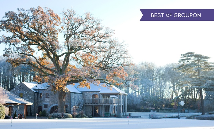 Co. Cork: 1 or 2 Nights for Two with Breakfast and Spa Passes at 5* Fota Island Resort