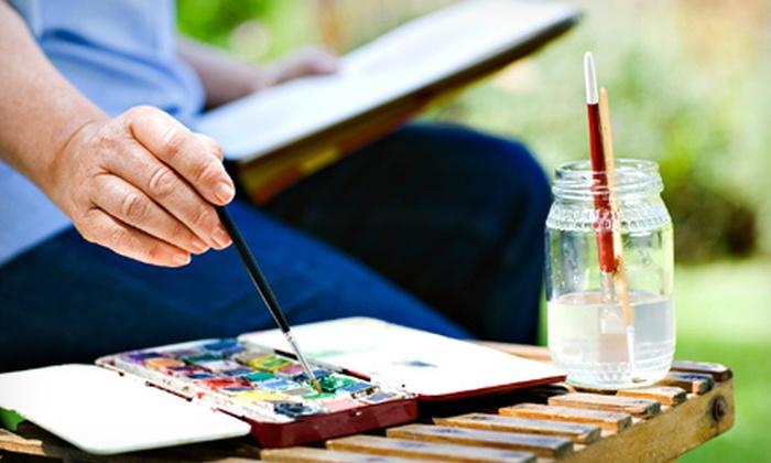 Watercolor Wonders - Deer Valley: One or Three Watercolor Painting Classes at Watercolor Wonders (Up to 53% Off)