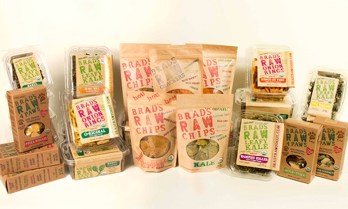 Brad's Raw Foods: 21-Day Sugar-Detox Program or 60-Day Raw Foods Challenge with Snack from Brad's Raw Foods (Up to 89% Off)