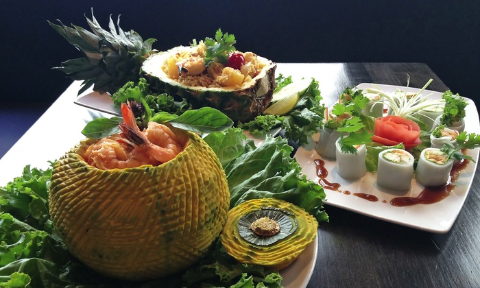 O3 Bistro & Lounge  - Civic Center: $29 for Laotian Thai Cuisine and Drinks for Dinner for Two or More at O3 Bistro & Lounge($45 Value)