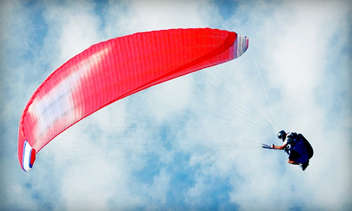 Chicago Paragliding - Multiple Locations: $149 for a Tandem-Paragliding Flight with a Lesson at Chicago Paragliding ($300 Value)