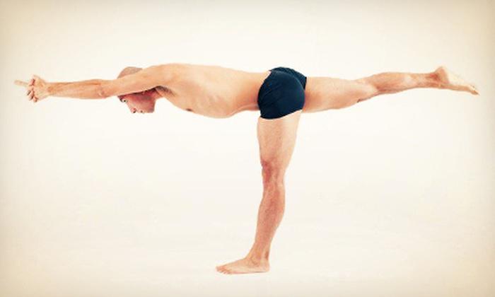Bikram Yoga Covina - Covina-Valley: One Month of Unlimited Bikram Yoga Classes with Option for $50 Class Credit at Bikram Yoga Covina (Up to 81% Off)