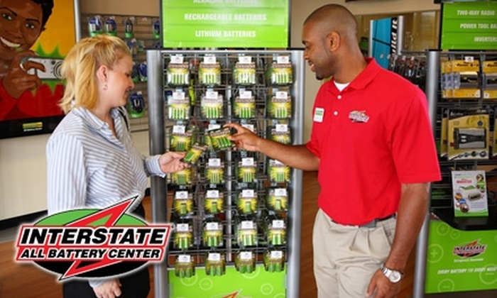 Interstate Batteries - Multiple Locations: $10 for $25 Worth of Batteries and More at Interstate All Battery Center