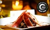 OUT OF BUSINESS - Hudson River Cafe - Manhattanville: $39 for Latin-Inspired Dinner for Two with Appetizer, Entrees, Dessert, and Bottle of Wine at Hudson River Cafe (Up to $82 Value)