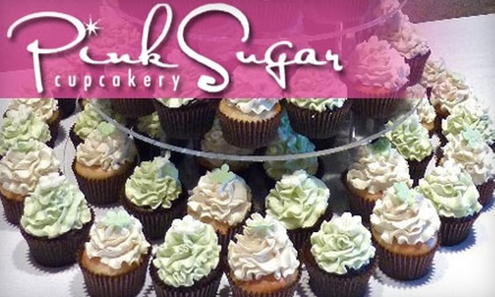 Pink Sugar Cupcakery - Downtown: $8 for a Half Dozen Cupcakes from Pink Sugar Cupcakery ($16.95 Value)