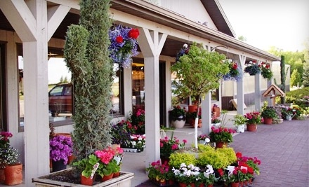 $30 Groupon to The Garden Mart - The Garden Mart in Mukwonago