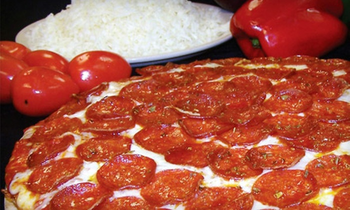 Carmela's Pizzeria - Springdale: Pizza Meal for Two or Four at Carmela's Pizzeria