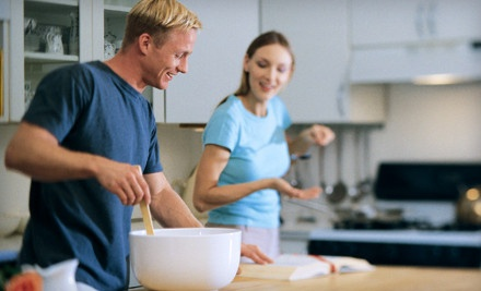 Foundations Cooking Class or Cooking Light Class for One (a $65 value) - Apropos Culinary Arts Center in Lexington