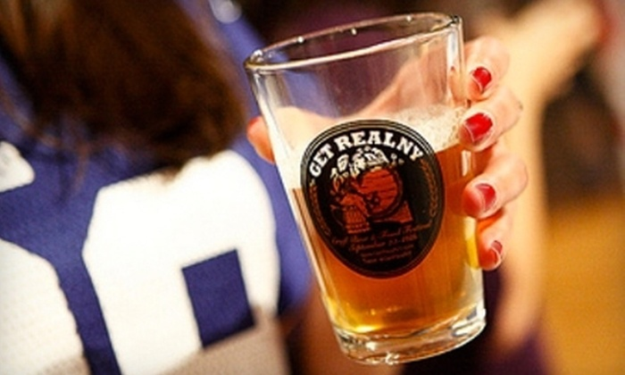 Get Real NY Belgian Beer Festival - Chelsea: One Ticket to the Get Real NY Belgian Festival. Four Options Available.