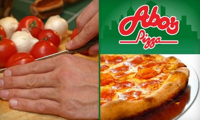 Abo's Pizza - Multiple Locations: $10 for Any 18-Inch Specialty Combo Pizza at Abo's Pizza