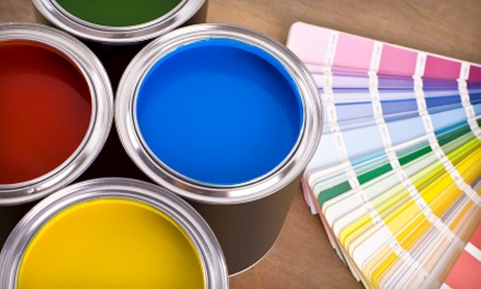 Exeter Paint: The Benjamin Moore Store - Multiple Locations: $35 for $70 Worth of Paint at Exeter Paint: The Benjamin Moore Store