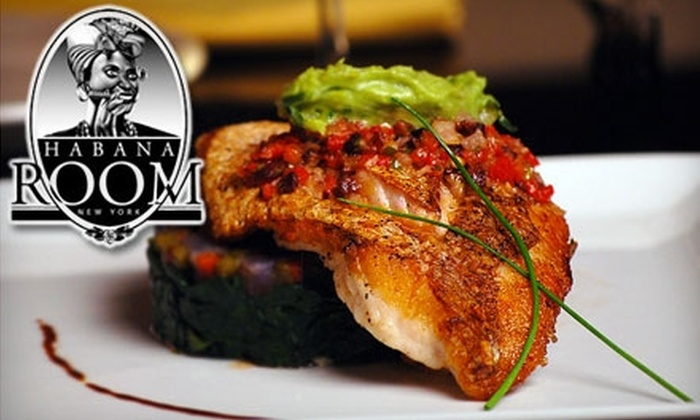 Habana Room - Midtown Center: $10 for $20 Worth of Modern Cuban Cuisine and Drinks at Habana Room