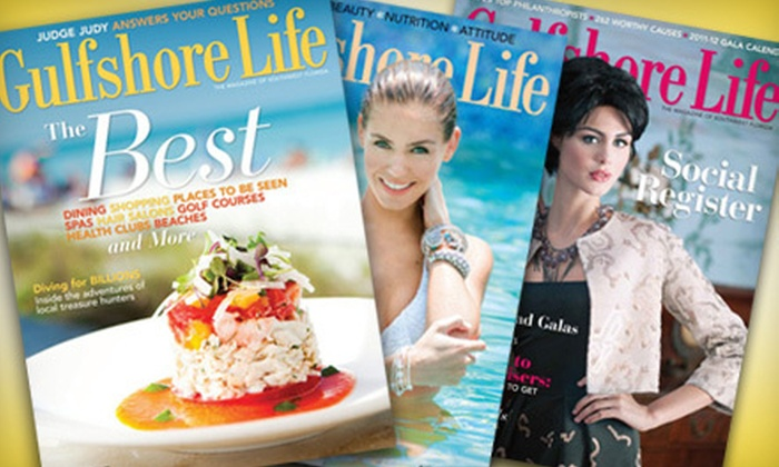 """""""Gulfshore Life"""" - Redevelopment Area: One- or Two-Year Subscription to """"Gulfshore Life"""" Magazine (Up to 53% Off)"""
