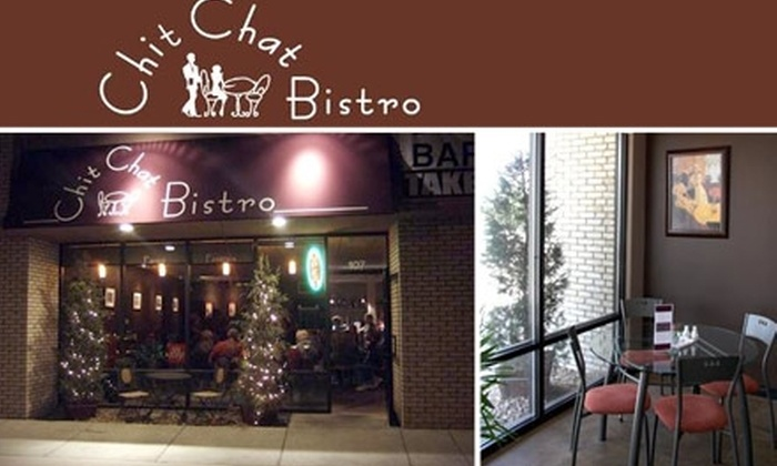 Chit Chat Bistro - Candlelight: $15 for $35 Worth of Mediterranean Fare at Chit Chat Bistro