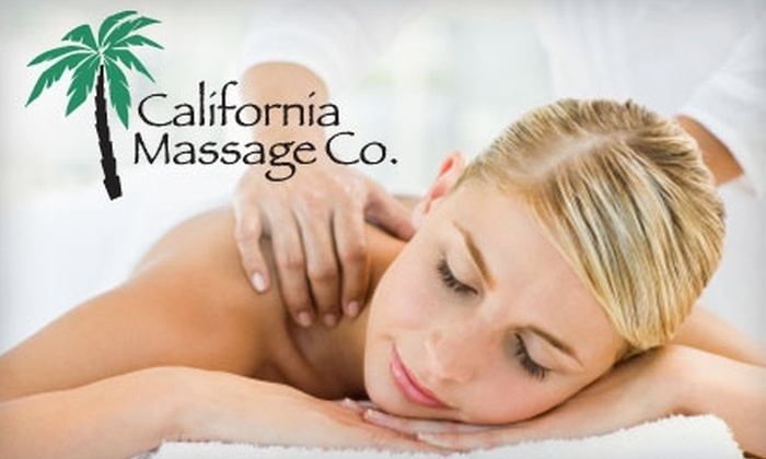 California Massage Company - Chattanooga: $30 for a One-Hour Relaxation Massage at California Massage Company