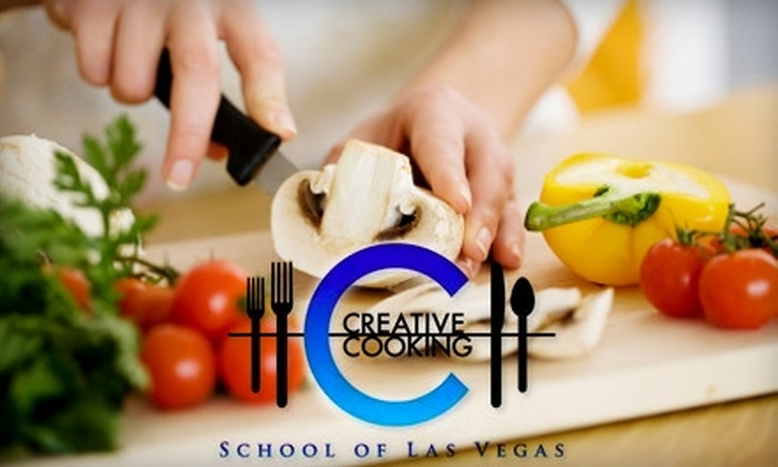 Creative Cooking School - The Lakes/Country Club: $49 for a Cooking Class at Creative Cooking School