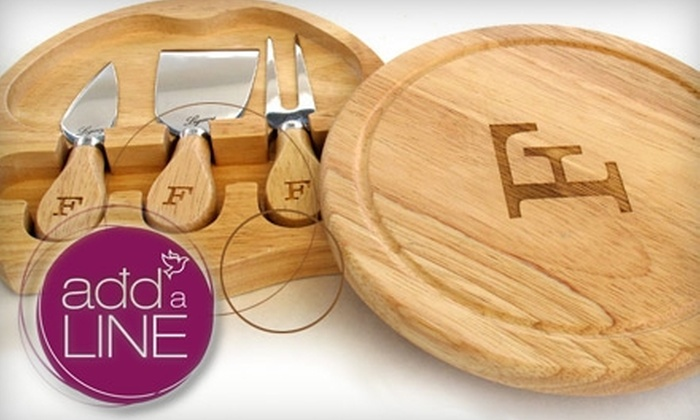 addaLINE: $15 for $30 Worth of Customized Laser-Engraved Keepsakes from addaLine