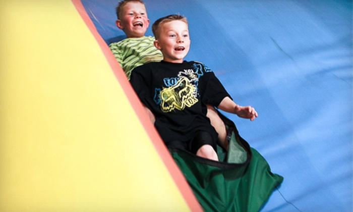 Scooter's Jungle - Aliso Viejo: Three Kids Passes for All-Ages Open Play or Toddler-Time Sessions or One Family Fun Pack to Scooter's Jungle