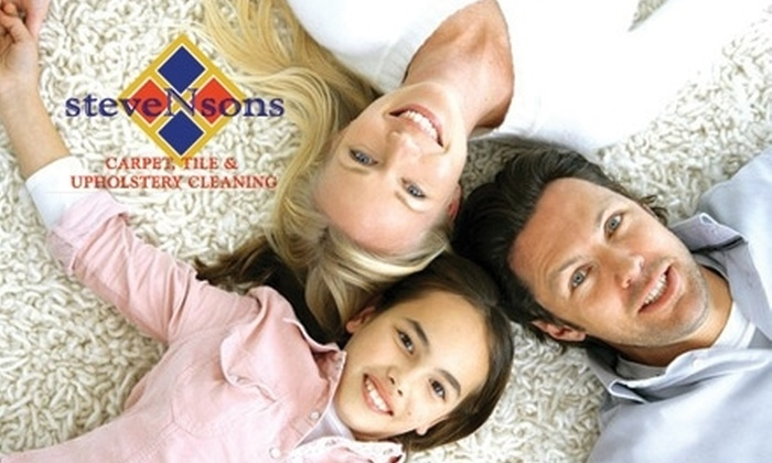 Stevenson's Carpet Cleaning - Sacramento: $68 for a Multi-Room Professional Cleaning from Stevenson's Carpet Cleaning ($195 Value)