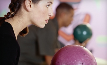 2 Games of Bowling and Shoe Rental for 2 (a $25 value) - Shore Lanes Bowling Center in Melbourne