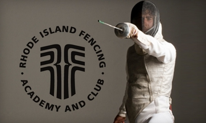 Rhode Island Fencing Academy and Club - Multiple Locations: $49 for a Six-Week Beginner Fencing Class at Rhode Island Fencing Academy and Club ($125 Value)