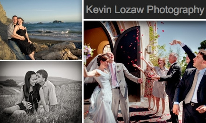 Kevin Lozaw Photography - San Francisco: $65 for an Engagement Photo Shoot and Digital Photo CD/DVD with Kevin Lozaw Photography
