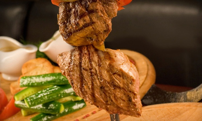 Brazilian Steakhouse - North Woburn: Barbecue Fare at Brazilian Steakhouse in Woburn (Up to 56% Off). Two Options Available.