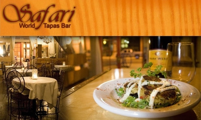 Safari World Tapas Bar - South Main Historic District Association: $15 for $35 Worth of Tasty Tapas and Drinks at Safari World Tapas Bar