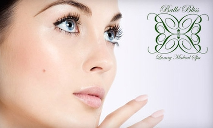 Balle Bliss Luxury Medical Spa - Cypress: $150 for Three Laser Hair-Removal Treatments at Balle Bliss Luxury Medical Spa in Cypress