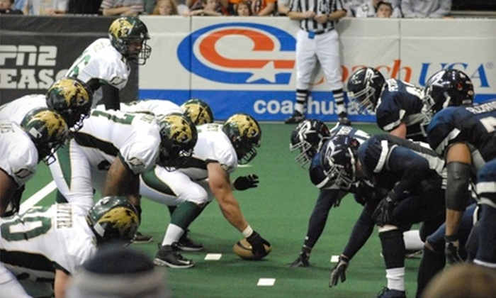 San Jose SaberCats - Central San Jose: $8 for a Ticket to San Jose SaberCats Season Opener on March 11 at HP Pavilion ($16 Value)
