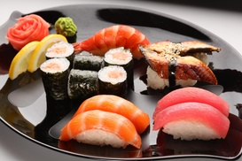Sakura Express: $15 for $20 Worth of Japanese Food for Two for Dine-In or Takeout at Sakura Express