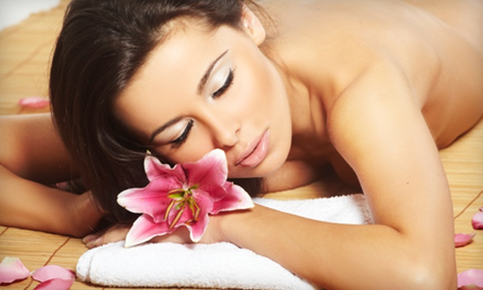 Salon Couture of Southington - Southington: Spa Package with Massage and Facial or Haircut Package with Deep Conditioning at Salon Couture of Southington (Up to 51% Off)