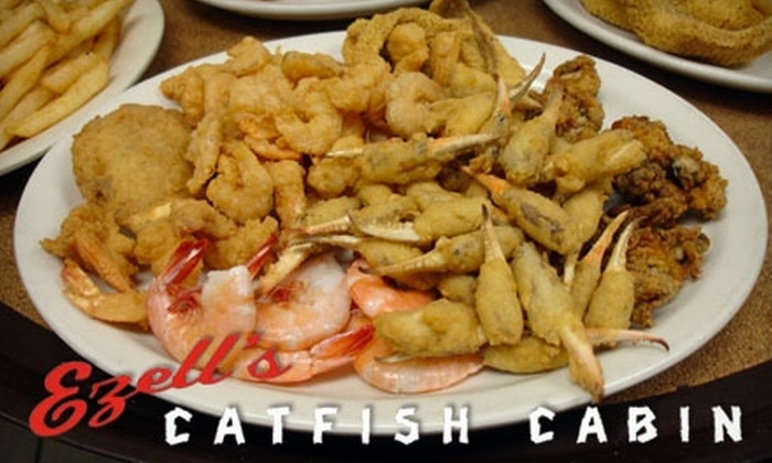 Ezell's Catfish Cabin - Trussville: $9 for $20 Worth of Fresh Catfish, Seafood, and Drinks at Ezell's Catfish Cabin in Trussville