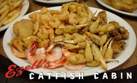 $20 Groupon to Ezell's Catfish Cabin - Ezell's Catfish Cabin in Trussville