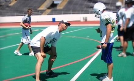 Sports International Football Camps: Jay Novacek 2-Day Football Camp and Autographed Football - Sports International Football Camps in Corpus Christi