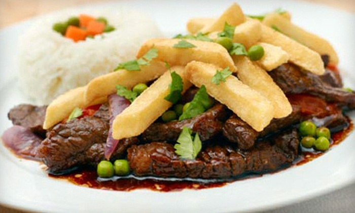 Aguaymanto Grill - Centreville: Peruvian Cuisine at Aguaymanto Grill (Half Off). Two Options Available.