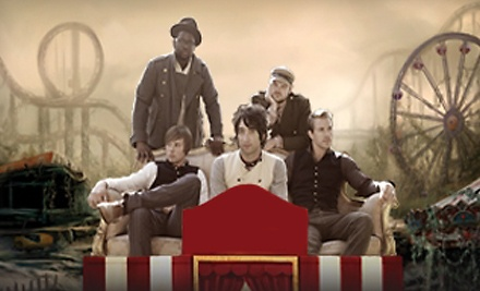 Plain White T's at House of Blues Cleveland on Mon., Oct. 17 at 7:30PM: General Admission - Plain White T's and Trippin Billies in Cleveland