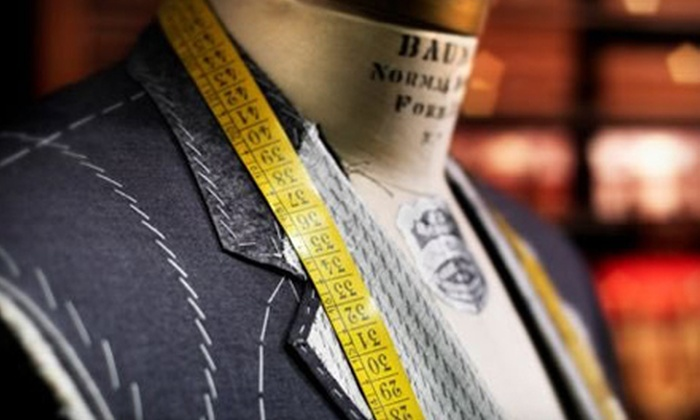 Romualdo - Madeira: Ties and Custom Suits at Romualdo in Madeira (Up to 51% Off). Three Options Available.