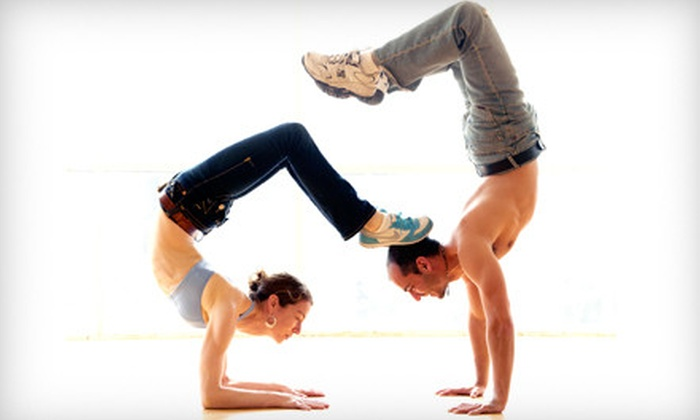 Up Dog Yoga and Cycling - West Hollywood: $49 for Seven Yoga and Cycling Classes at Up Dog Yoga and Cycling in West Hollywood (Up to $147 Value)