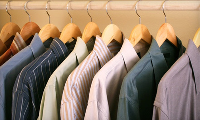 Plaza Park Avenue Cleaners - Multiple Locations: Dry Cleaning and Laundry Services at Park Plaza Avenue Cleaners (Up to 55% Off). Two Options Available.