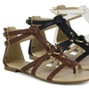 Mark & Maddux Bishop Women's Flat Strappy Sandal