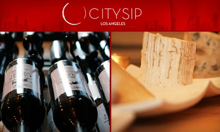 City Sip - Silver Lake: $20 for $40 Worth of Wine and Gourmet Fare at City Sip