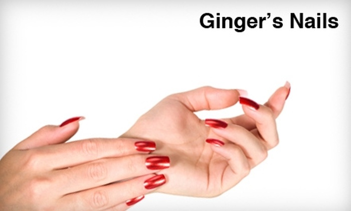 Ginger's Nails - Baton Rouge: $25 for an H2O Manicure and Spa Pedicure at Ginger's Nails ($55 value)