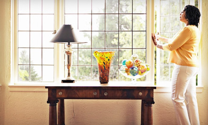 Eco Safe Cleaning  - Anaheim-Santa Ana-Garden Grove: $69 for Interior and Exterior Window Cleaning from Eco Safe Cleaning ($175 Value)