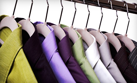 $50 Groupon to Embrace Dry Cleaning & Alterations - Embrace Dry Cleaning & Alterations in Airdrie