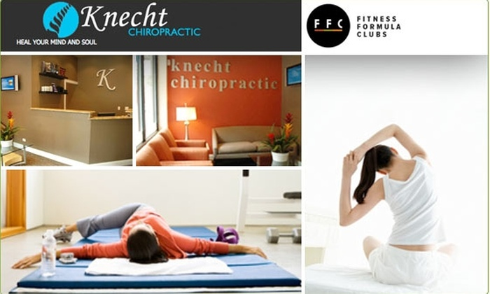 Knecht Chiropratic - Chicago: $60 for a $435 Chiropractic Massage & Fitness Package
