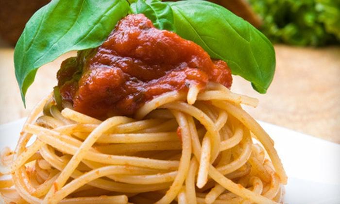 Bourbon Street Grille - Monona: Spaghetti-Board Meal for 4, 8, or 12 at Bourbon Street Grille in Monona (Up to 62% Off)